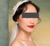 婚纱照形象照保留细节修饰